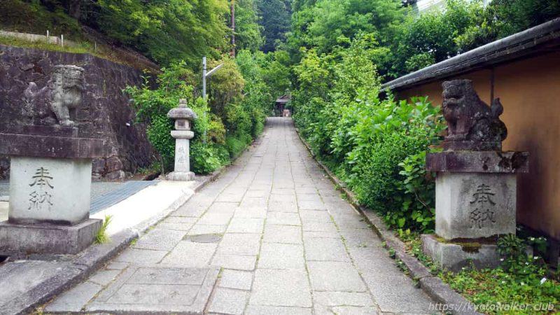 大豊神社の参道 20190602