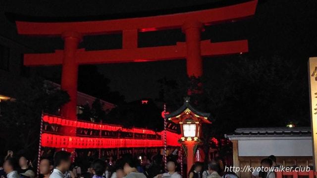 伏見稲荷夏の大祭 宵宮祭