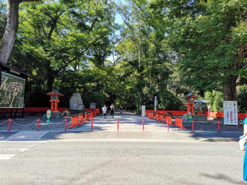 下鴨神社 参道 20210722
