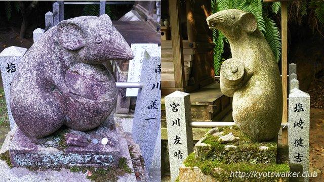 大豊神社狛ねずみ