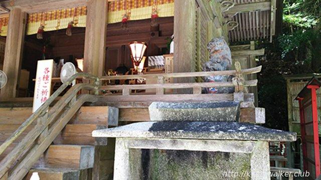 由岐神社本殿の狛犬