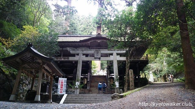 由岐神社 ※2016年11月撮影