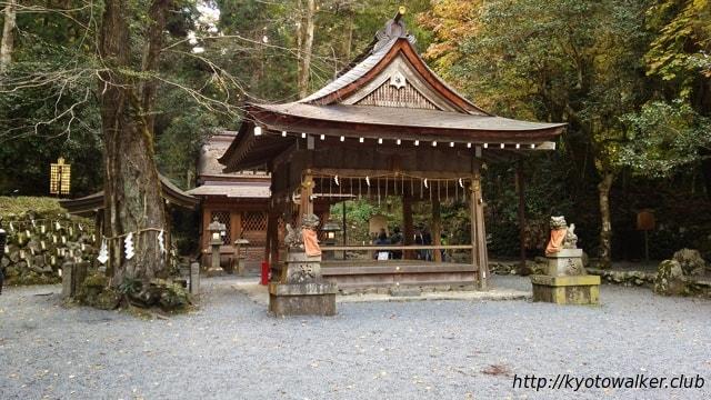 貴船神社奥宮拝殿