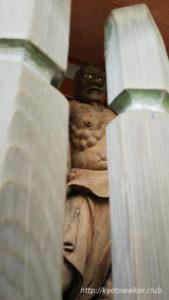 鞍馬寺仁王門の仁王像