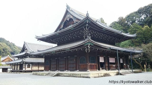 泉涌寺 仏殿と舎利殿