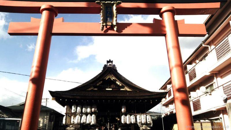 瀧尾神社の南鳥居