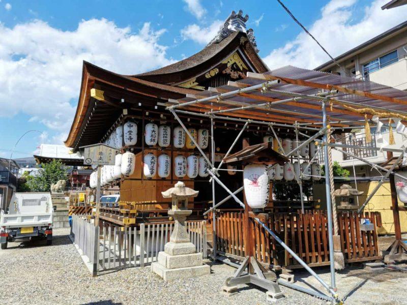 瀧尾神社 拝殿 20210828