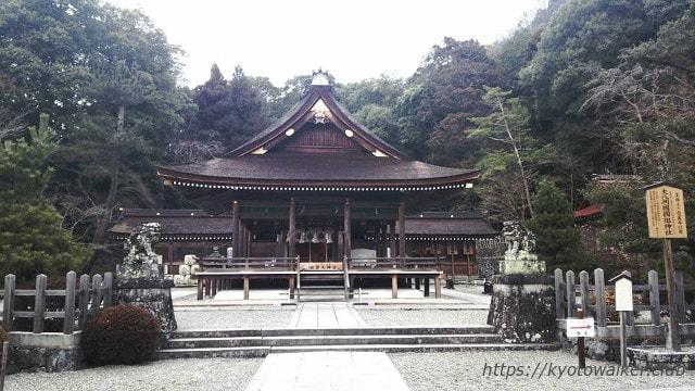 出雲大神宮拝殿と拝所