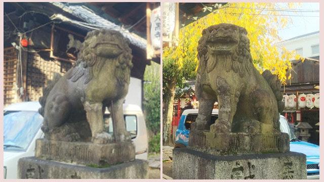 金札宮狛犬