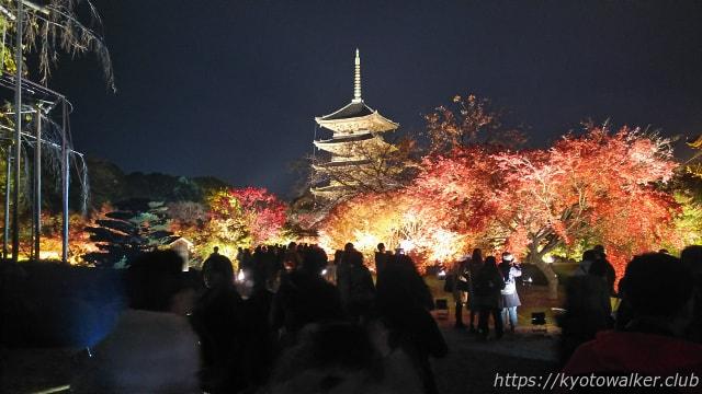 2017東寺夜間拝観1126