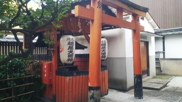醒ヶ井住吉神社の境内社熊丸稲荷大明神