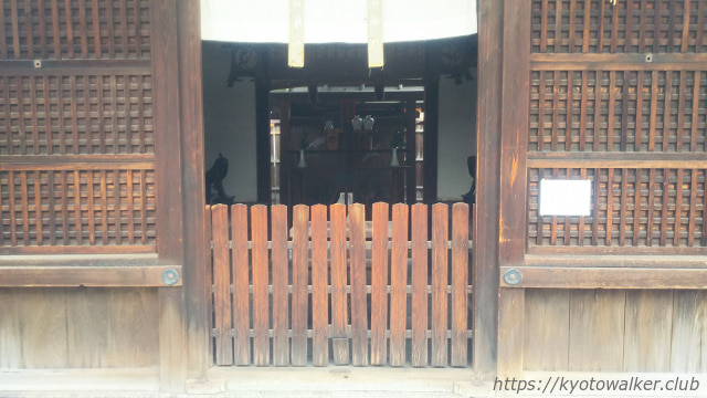 醒ヶ井住吉神社の拝殿