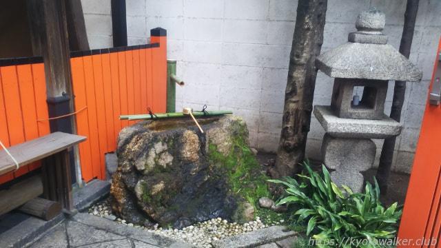 繁盛神社手水鉢