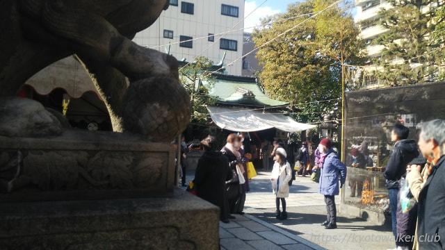 元祇園梛神社 節分