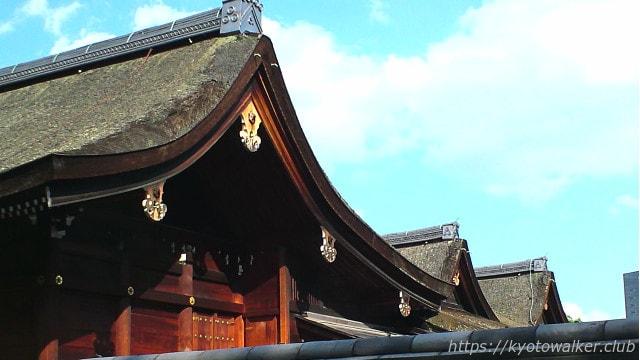 城南宮 神苑から見た本殿