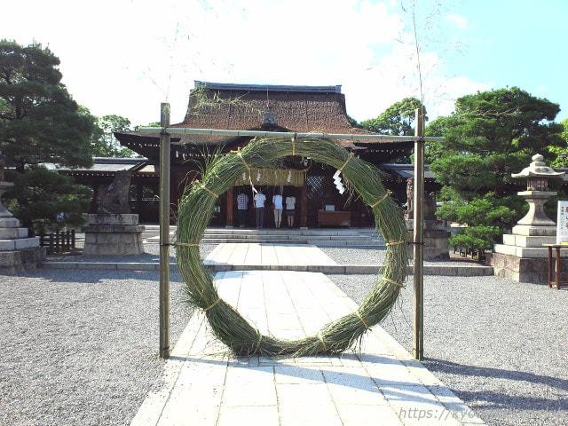城南宮茅の輪