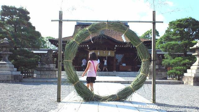 城南宮茅の輪2