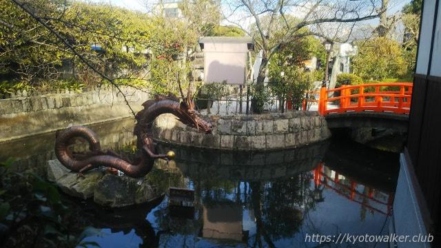 壬生寺 水掛地蔵堂から見た壬生塚