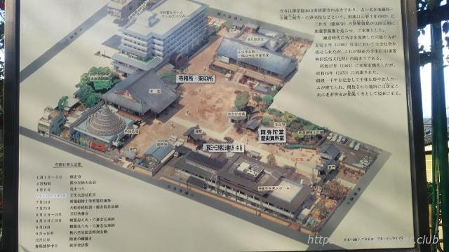 壬生寺 境内案内図