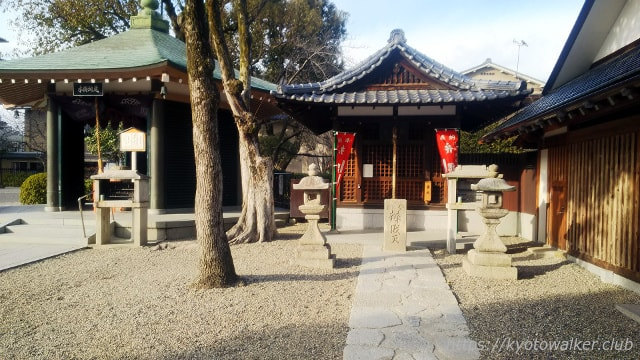 壬生寺 辨財天堂と水掛地蔵堂