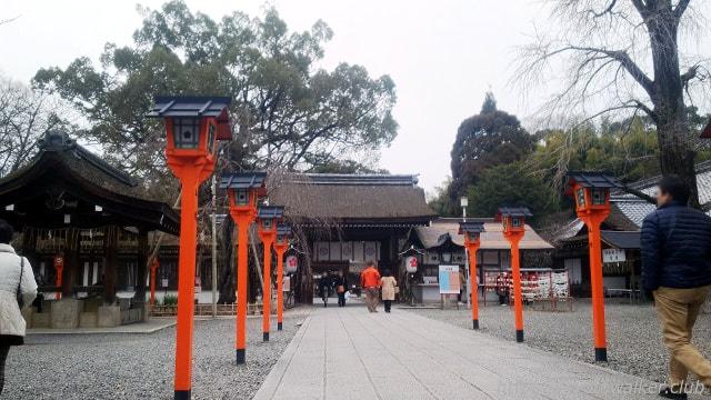 平野神社 参道