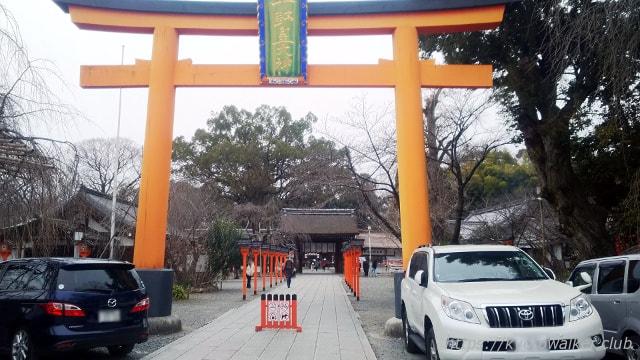 平野神社大鳥居