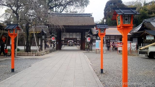平野神社 楼門・拝殿・本殿