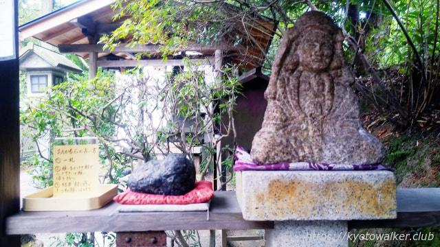伏見神寶神社 おもかる石