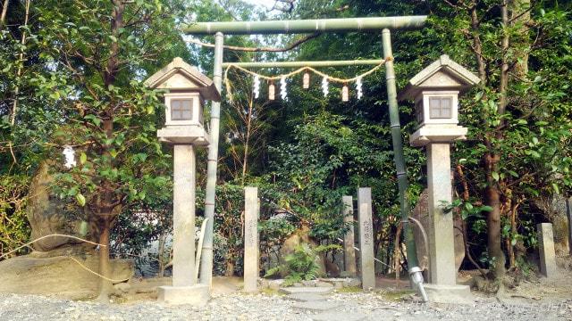 伏見神寶神社 竹の鳥居