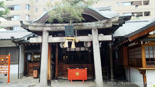 京都ゑびす神社境内社の天満宮