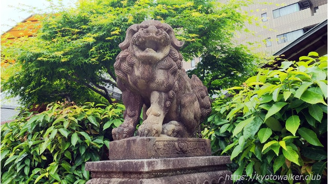 恵美須神社阿の狛犬