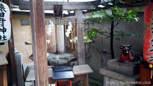 恵美須神社境内端の天満宮遥拝所