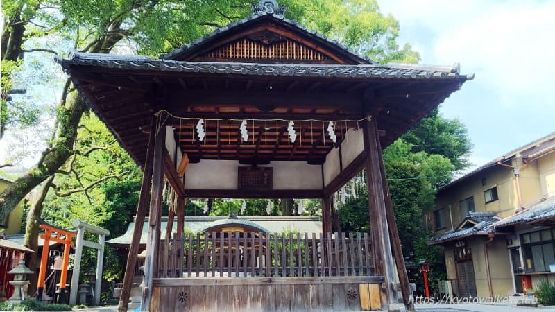 山王神社舞殿