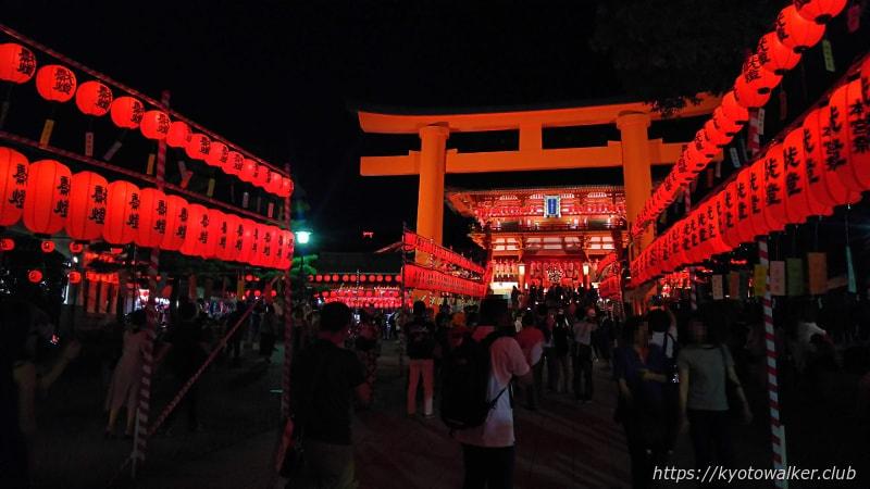 伏見稲荷大社本宮祭宵宮祭20180721