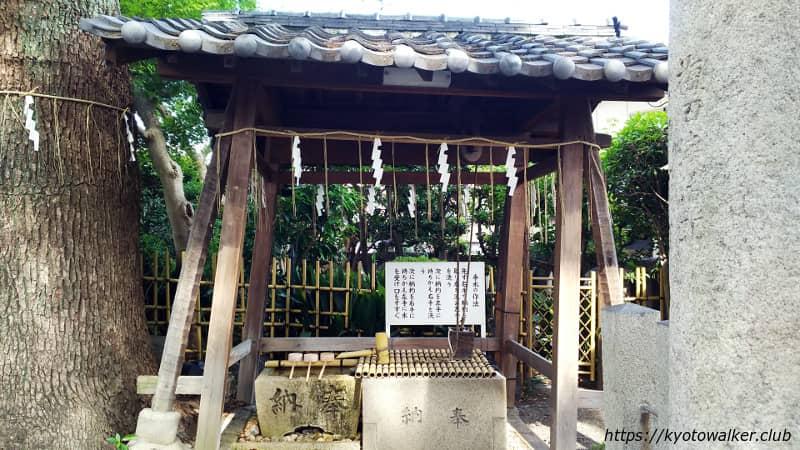 山王神社手水舎