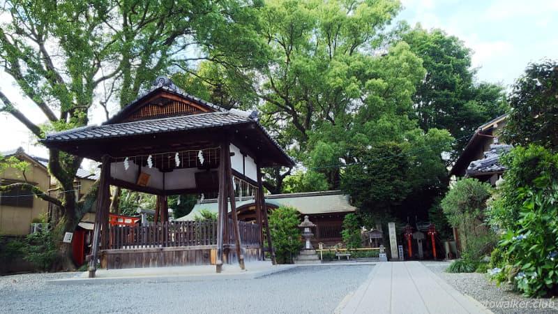 山王神社境内の様子