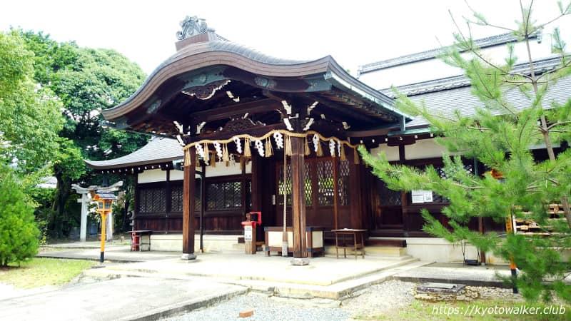 新日吉神宮拝所