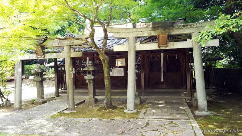 新日吉神宮 豊国社と愛宕・秋葉社