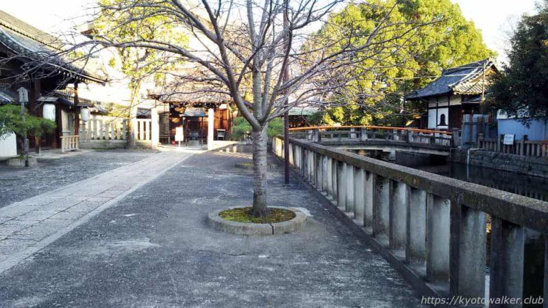 20181213 東寺 観智院の門と太元堂、弁天堂