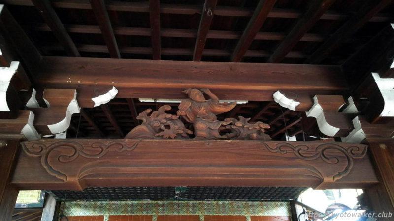 剣神社 蟇股