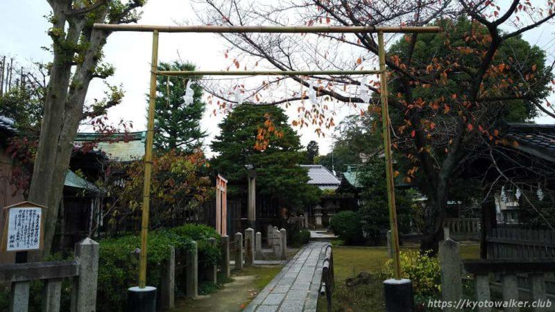 剣神社 竹の鳥居