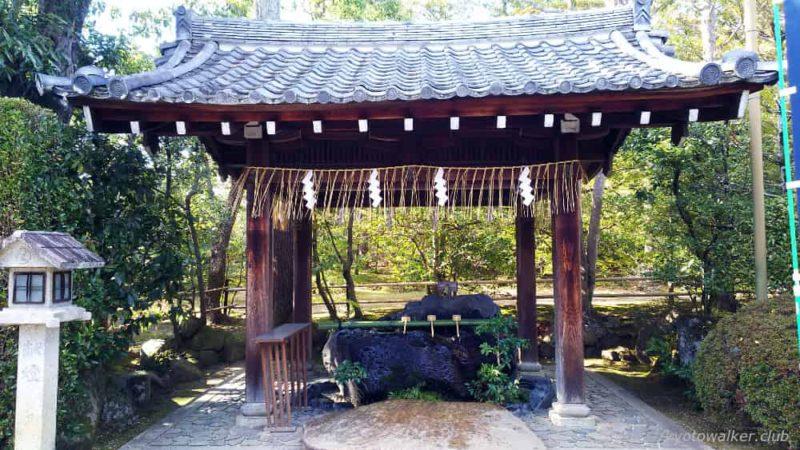 敷地神社(わら天神) 手水舎 20190114