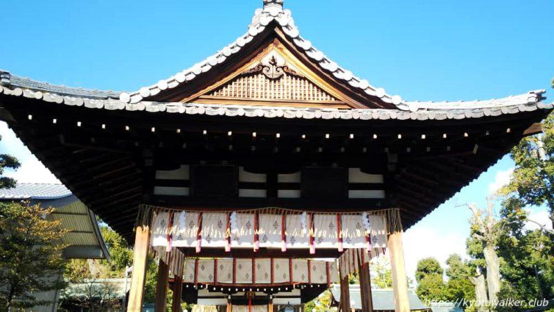 敷地神社(わら天神) 舞殿 20190114