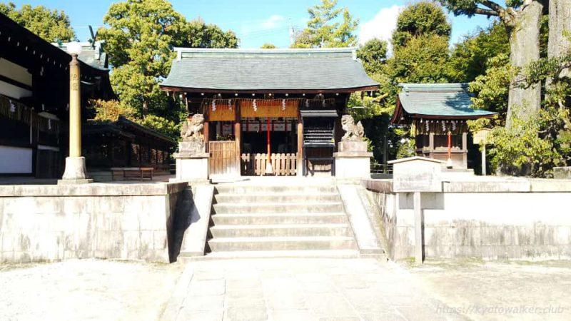 敷地神社(わら天神) 六勝神社 20190114