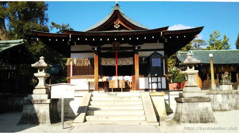 敷地神社(わら天神) 社殿 20190114