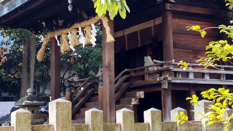 綾戸國中神社の社殿
