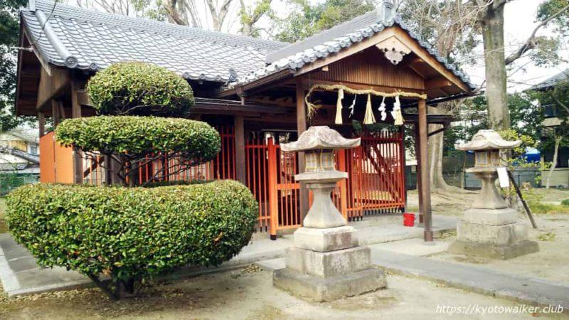 木下神社の社殿
