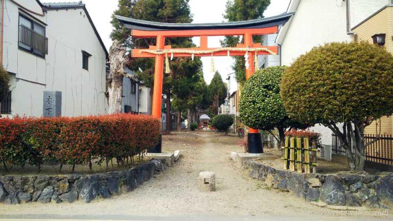 木下神社の鳥居