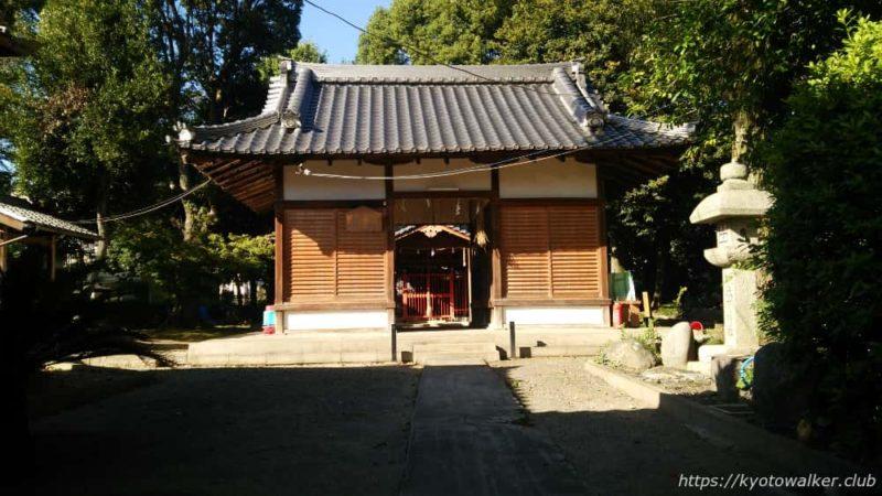 木下神社の割拝殿 20161010