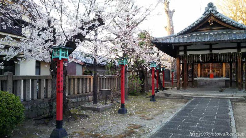 宇賀神社 境内 20190404